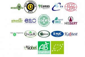 organik tarım sertifikaları