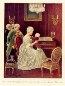 Maria Theresa & Mozart