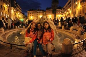 piazza di Spagna- sudan hikayeler